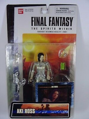 Final Fnatasy The Spirits Within Aki Ross Bandai Figur 2000