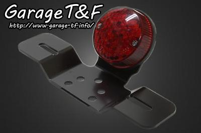 GARAGE T?F Round Tail Lamp LED Tail Lamp Lens Color: Red