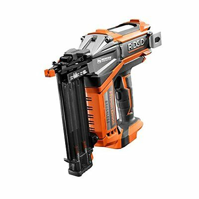 "RIDGID 18v 18-GAUGE 2-1/8"" CORDLESS BRUSHLESS HYPERDRIVE BRAD NAILER R09890B"