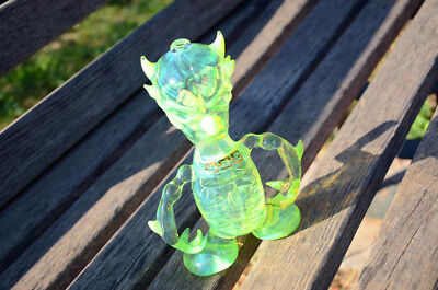 Green Slime dab rig water bong - high quality handmade water pipe (tobacco use)