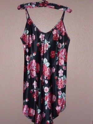 Nwt Honors Intimates Shorty Ladies Flowered Gown  Size Medium