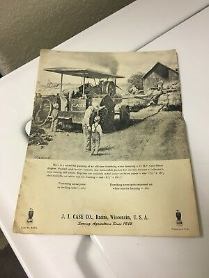 J I Case Steam Engine Brochure A654L Original