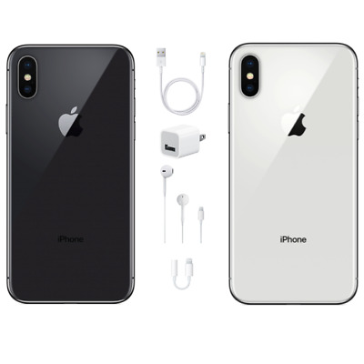 Apple iPhone X 256GB - GSM&CDMA Unlocked-USA Model-Apple Warranty-BRAND NEW!