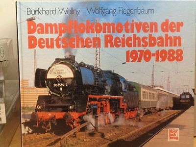 Book Steam Locomotives of the German 1970-1988 Author: Wollny, Top Photos