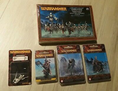 Warhammer - Vampire Counts Skeletons, Krell, Wight King, Undead Wraith, Cairn