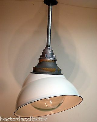 SALE Crouse Hind Industrial Explosion Proof Factory Light Porcelain Bubble Shade