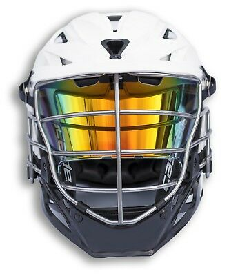 EliteTek LAX Lacrosse Eye Shield Visor - Adult Cascade Helmets - MULTI-COLORS!!