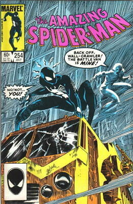 the Amazing Spider-Man Comic Book #254 Marvel 1984 NEAR MINT NEW UNREAD