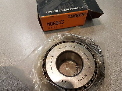 Timken M86643 Tapered Roller Bearing
