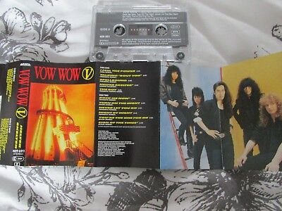 VOW WOW - HELTER SKELTER. Music Cassette