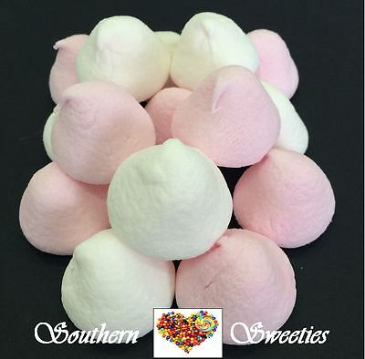 Pink White Marshmallows Puffs 400G White Pink Lollies Candy Marshmallow Weddding