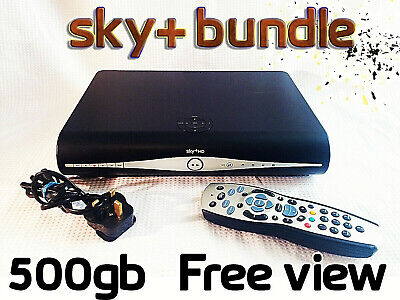 Sky PLUS + HD Box & Remote Bundle - WiFi Freeview Freesat DRX890W - 500GB Model