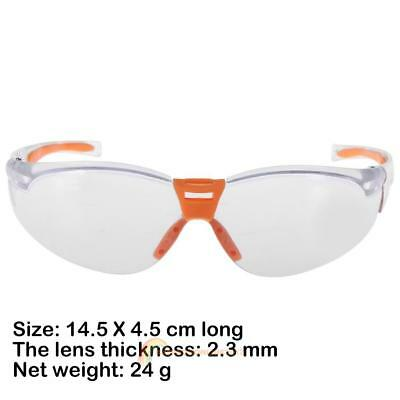 Dustproof UV Protective Goggles Riding Clear Lens Safety Eye Glasses Seal Labor