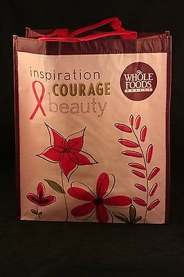 "Whole Foods Reusable Bags - NEW  ""Breast Cancer"" Bag"