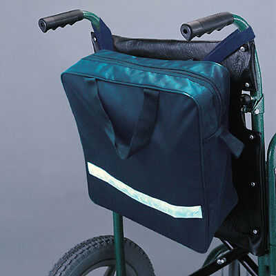 Wheelchair Bag, Waterproof Nylon with Zipper on top,