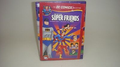 The All New Super Friends Hour Season 1 Vol.2(The Dc Comics) Dvd--Sealed New