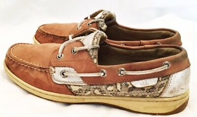 Sperry Top-Sider Boat Shoes Womens Size 8 Sperry Bluefish Boat Shoes Leather