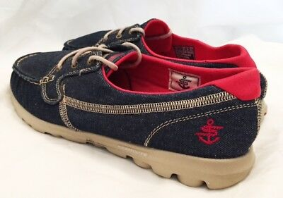 Skechers Shoes Womens Size 11 13808 Skechers Boat Shoes On the Go Shoes Canvas