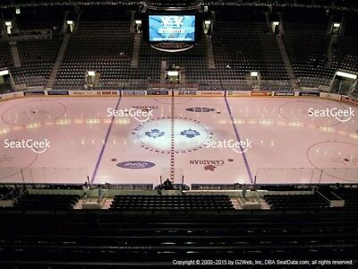 Toronto Maple Leafs VS Montreal Canadiens ST PATS GAME TICKETS