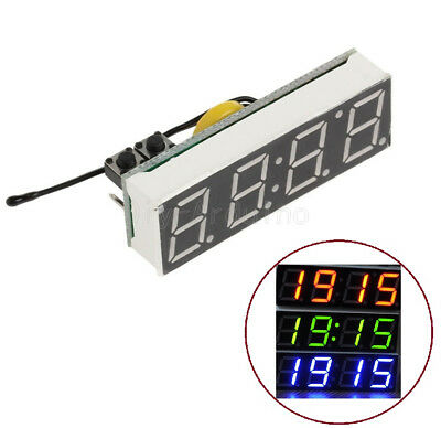 DS3231SN 3 in 1 LED digital Clock Temperature Voltage Module High Accuracy