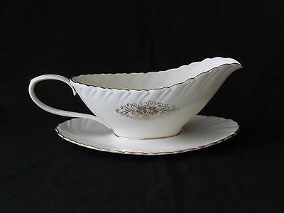 Lenox Orleans D 515 Gravy Boat w/Under Plate Excellent Condition