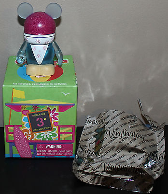Disney Vinylmation Cutesters At The Beach Series 3 ~Snow Cone Sand Box & Foil~