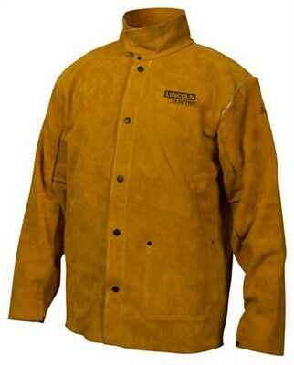 XL LTHR Welding Jacket, PartNo KH807XL, by Worldwide Sourcing, Single Unit