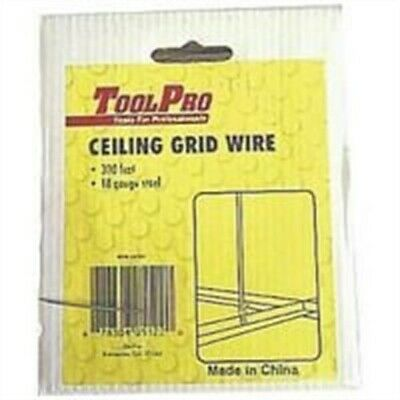 Hanging Wire 300ft 18ga Glvn, PartNo 5122, by Toolpro, Single Unit