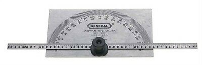 19 Protractor And Depth Gauge, PartNo 19, by General Tools Mfg, Single Unit