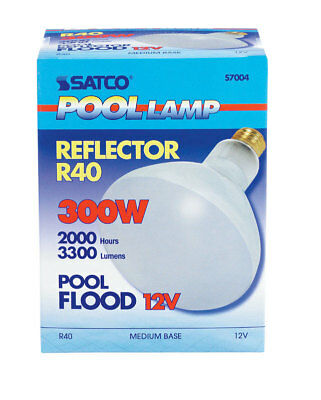 BULB POOL 300W BR40 12V by SATCO MfrPartNo 7004, PartNo 7004, by Satco Products