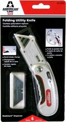 Part 65-0203 Utility Knife .025 Rd Bk, by Accutec Blades, Single Item, Great Val