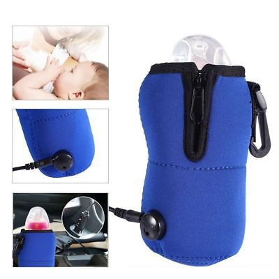 Universal Portable Auto Car Warmer Cup Travel Baby Milk Bottle Food Heater 12V
