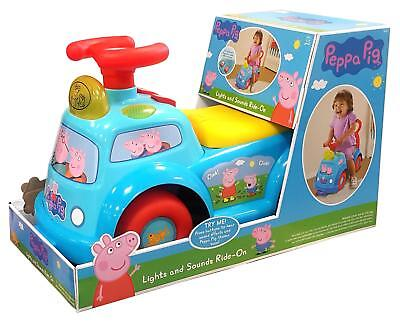 Peppa Pig Lights and Sounds Ride-On