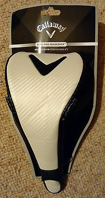 NEW* Callaway golf Dual Mag (magnetic) Driver headcover -cover fits most drivers