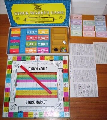 STOCK MARKET GAME Vintage 1968  Scarce