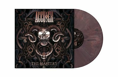 ACCUSER The Mastery AUBERGINE MARBLED Vinyl LP [Ltd 200] ACCU§ER