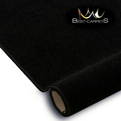 SOFT & CHEAP & QUALITY CARPETS Feltback TRENDY black Bedroom Large RUG ANY SIZE