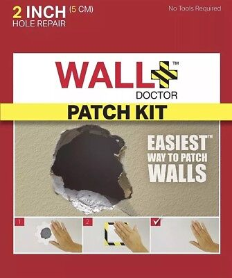"""Wall Doctor Drywall Patch Kit, 2"""""""