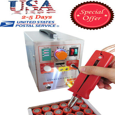 2 in 1 Pulse Spot Welder Battery Industrial Soldering Spot Welding Machine Quick