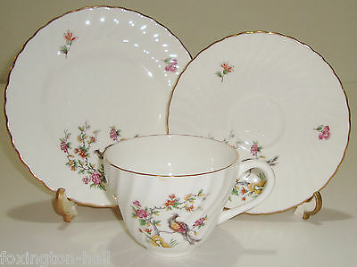 Beautiful Vintage Crown Staffordshire Cup,saucer & Plate