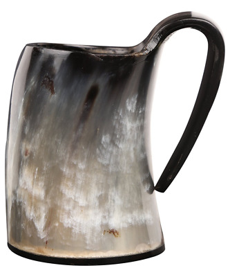Small Horn Viking Drinking Mug Cups Ale Beer Wine Goblet Tankard Mead Medieval