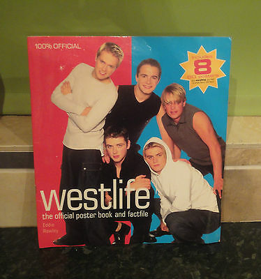 Westlife: The Official Poster Book & Factfile Eddie Rowley Paperback Book