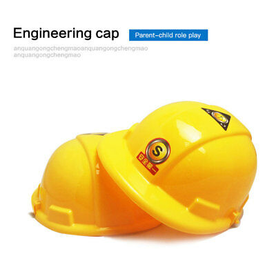 Helmet Hat Role Playing Construction Hard Dress Up Simulation Safety Children