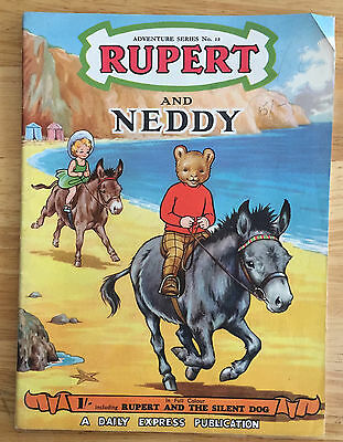RUPERT Adventure Series No 12 RUPERT & THE NEDDY APRIL1952 VG/FINE