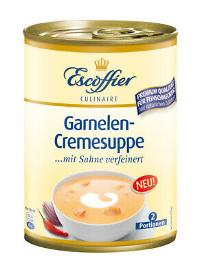 Escoffier Garnelen-Cremesuppe Suppen 390ml 4058700730440