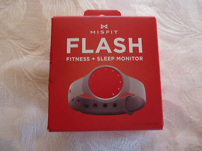 Misfit Flash Fitness + Sleep Monitor Coca-Cola Red New & Sealed  (H10)