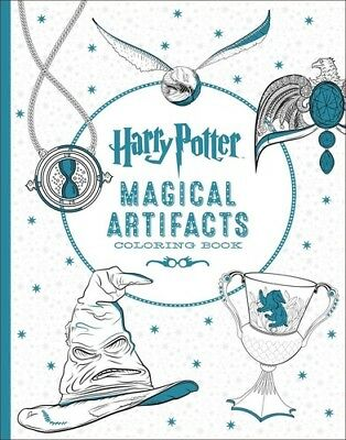 Harry Potter Magical Artifacts Coloring Book All The Props