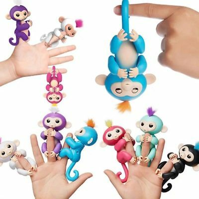 Electronic Smart Interactive Fingerlings Baby MonkeyToys Finger Pet Puppets Kids