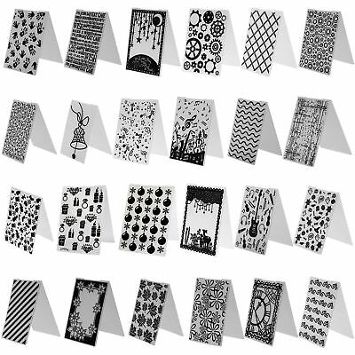60 Types DIY Embossing Folder Plastic Template Die Cutting Scrapbooking Crafts