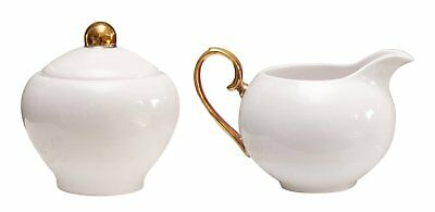 NEW Cristina Re Sugar Bowl and Creamer Ivory = Partyware Gifts School